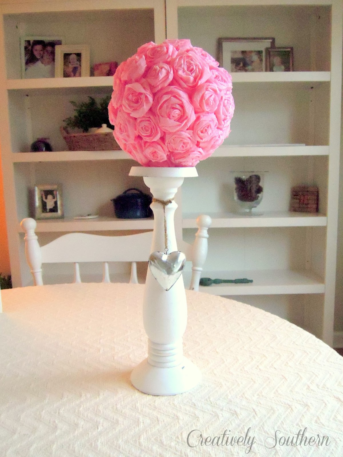 Crepe paper flowers for an elegant craft idea mightylinksfo