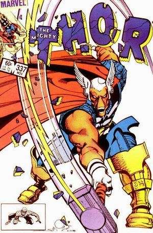 Thor 337 comic cover