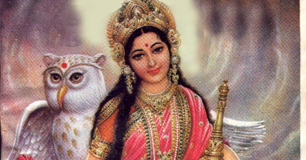 Image result for goddess lakshmi with owl