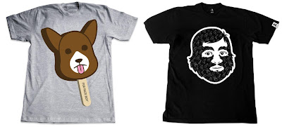 Fur Face Boy 2011 Summer T-Shirt Series - Bear Mai Ice Pop & FFB x Shogun Collab T-Shirts