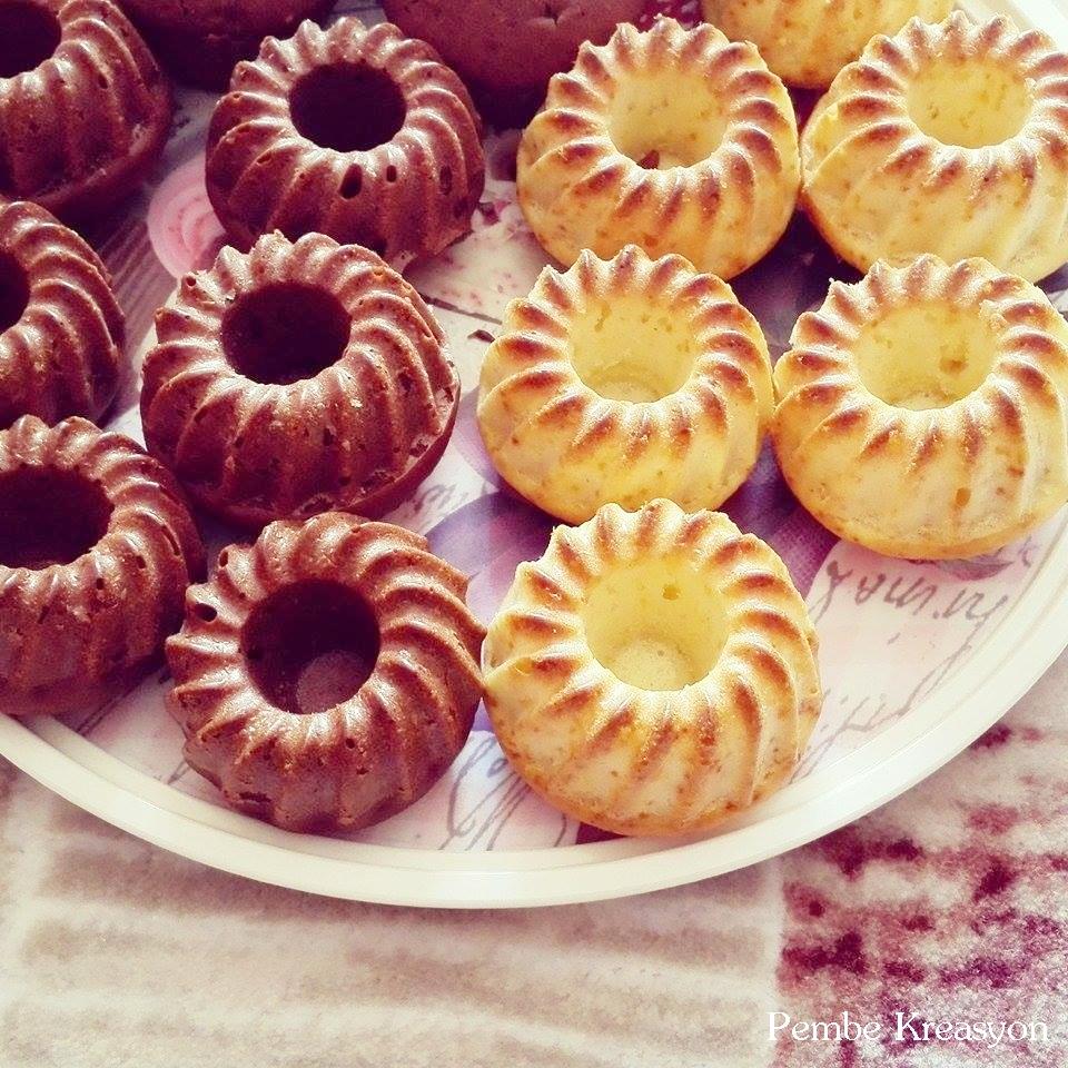 Minik Çikolatalı Kek Tarifi