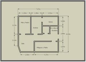 Sinue proyecto ejecutivo for Medidas de muebles para planos arquitectonicos