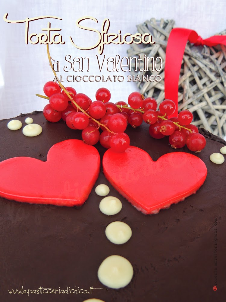 Torta sfiziosa di San Valentino -www.lapasticceriadichico.it