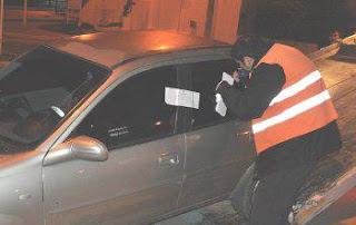 Conductora ebria detenida