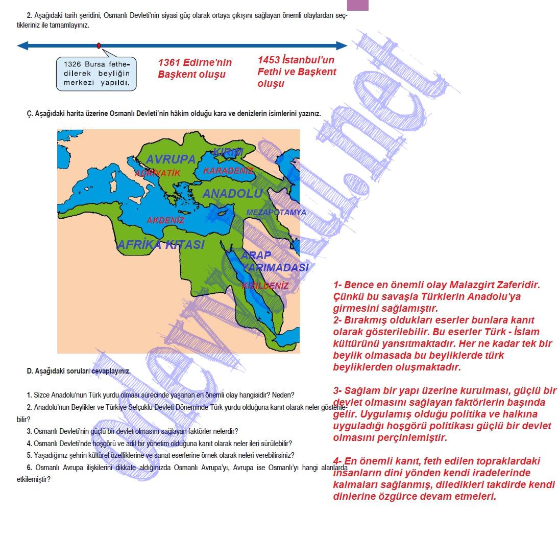 Sinif sosyal bilgiler ders kitabi cevapları meb yayinlari sayfa 95