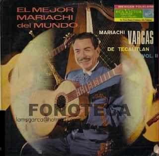 EL MEJOR MARIACHI DEL MUNDO VOL II