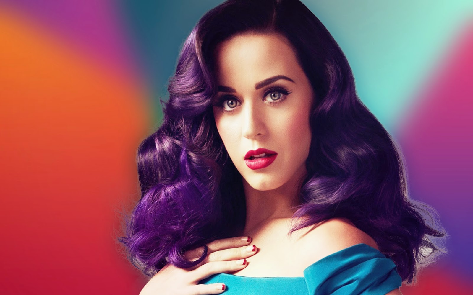 Katty Perry Wallpapers Colorful