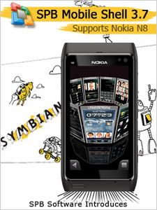 SPB Mobile Shell 3.7 for Symbian end-user version now supports Nokia N8 and Nokia Homescreen Widgets