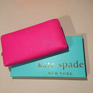 Kate Spade purse fuchsia