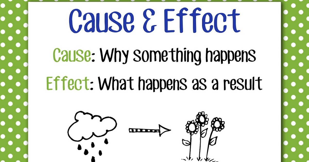 Sample Essay Cause And Effect