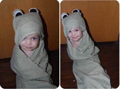Ravelry: Easy Baby Hooded Towel pattern by Publications