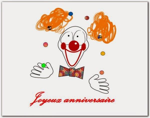 Affiche joyeux anniversaire