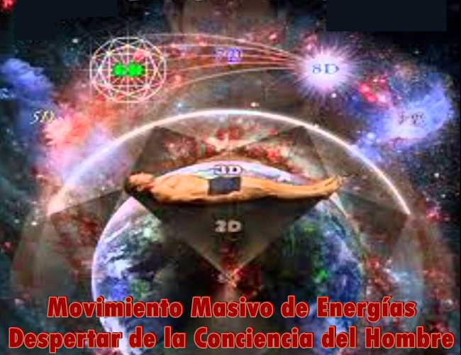 Un movimiento masivo de Energías se está vertiendo en los vórtices de la Tierra para Despertar la Conciencia del hombre, impulsar la Nueva Edad de Oro y empoderar el Alma y el cuerpo.
