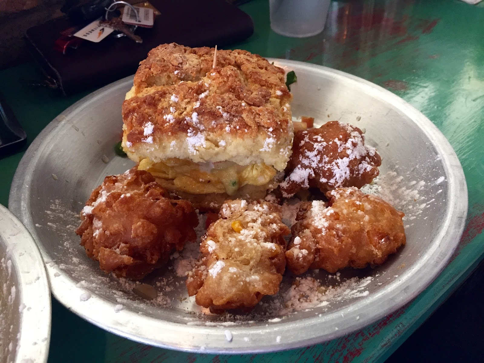 Corn Fritters in Houston