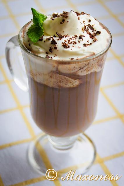 Охлажденный напиток с мятой и шоколадом от Уильяма Кёрли