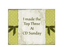 The CD Sunday Challenge Blog 2012 and 2013
