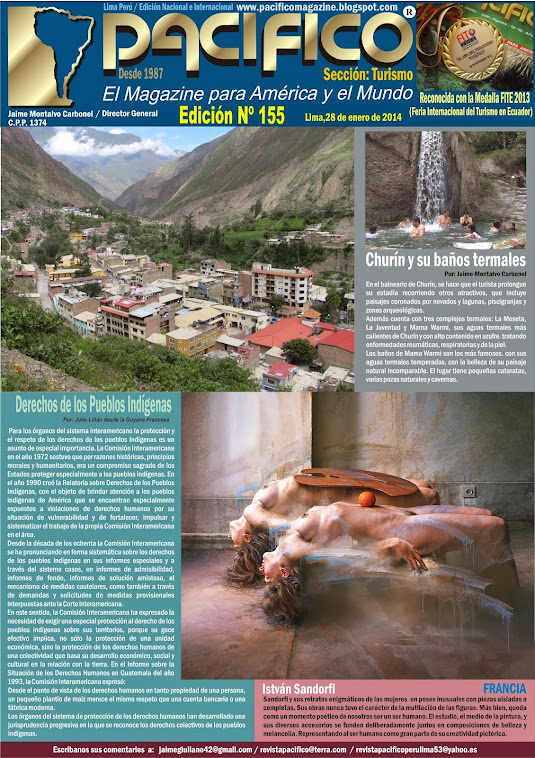 Revista Pacífico Nº 155 Turismo