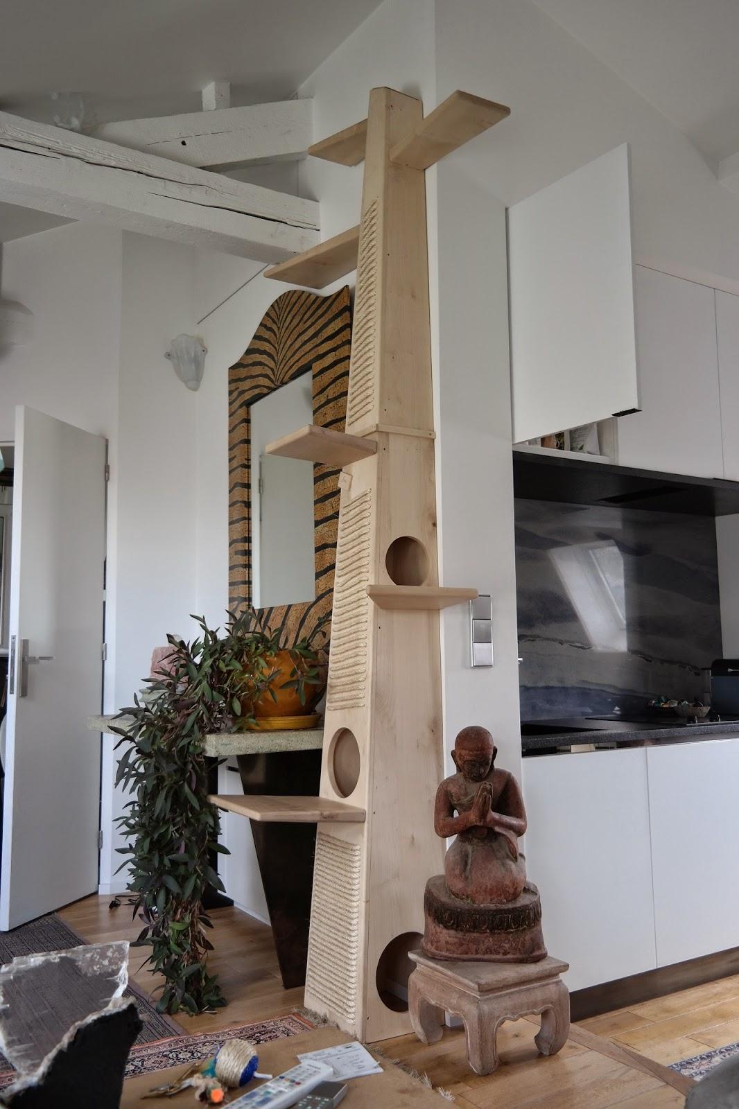 Labo voluptas eb nisterie arbre chat sur mesure - Fabriquer arbre a chat maison ...