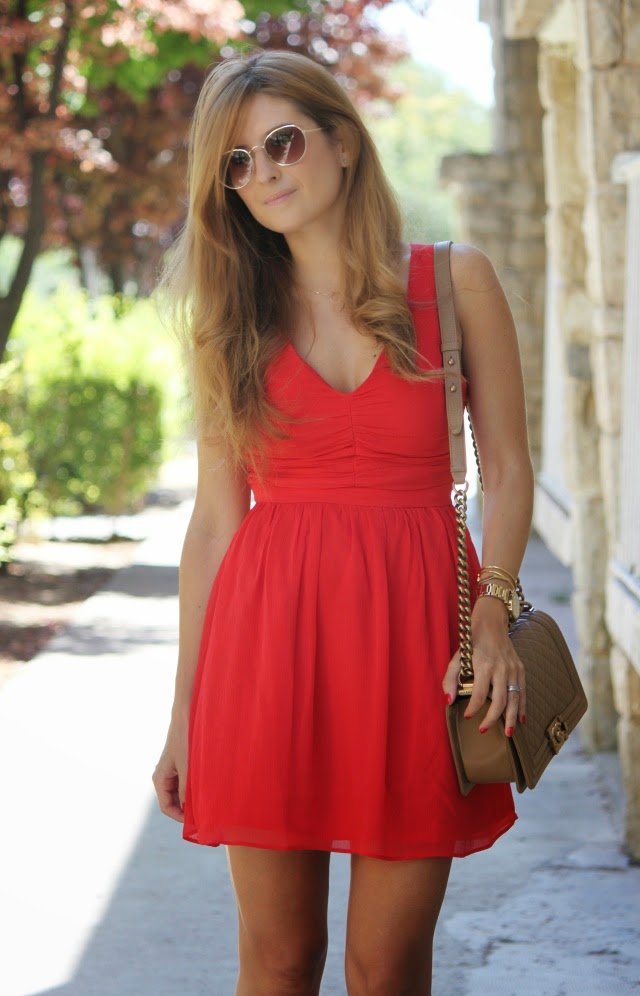Vestido rojo de mission impossible 3 a