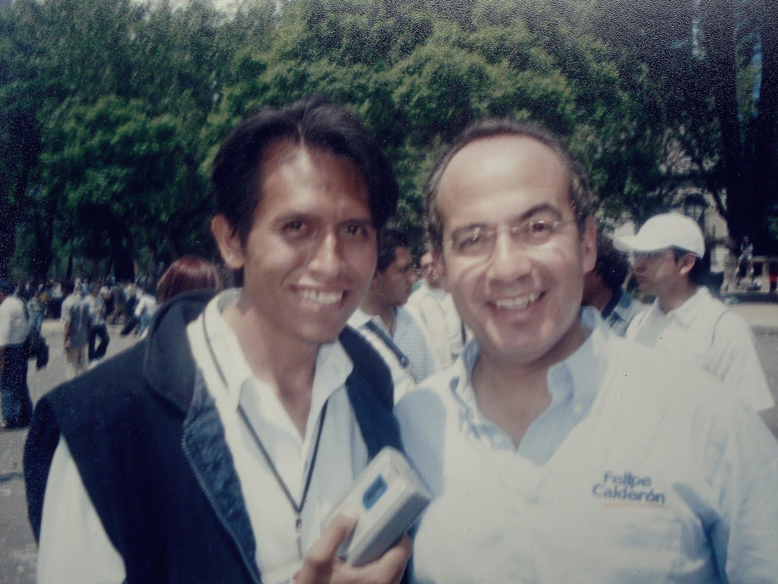 ANTONIO MOQUECHO FUE RECIBIDO POR EL PRESIDENTE DE MEXICO