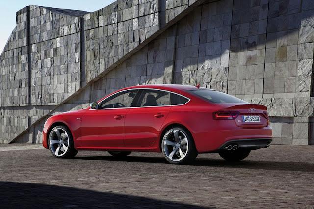 2012 Audi S5 SportBack Back Exterior
