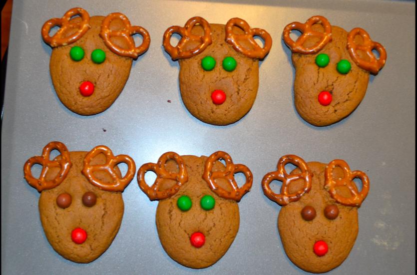 Craft Rookie Reindeer Cookies And Ninjabread Men
