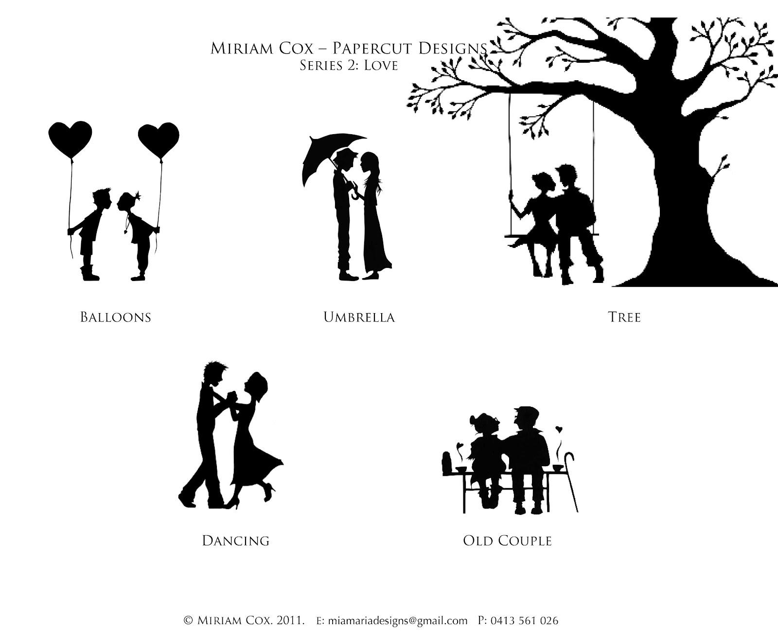 Miriam Cox Papercuts: Customised Wedding Invitations