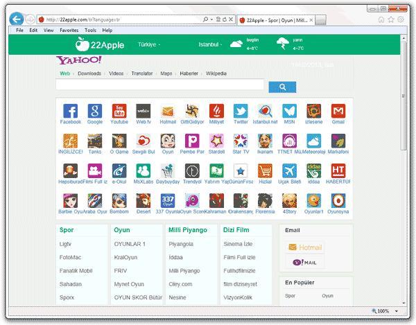 22apple.com es un secuestrador de navegadores capaz de realizar