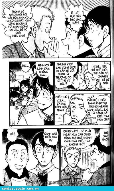 Detective Conan - Thám Tử Lừng Danh Conan chap 511 page 4 - IZTruyenTranh.com