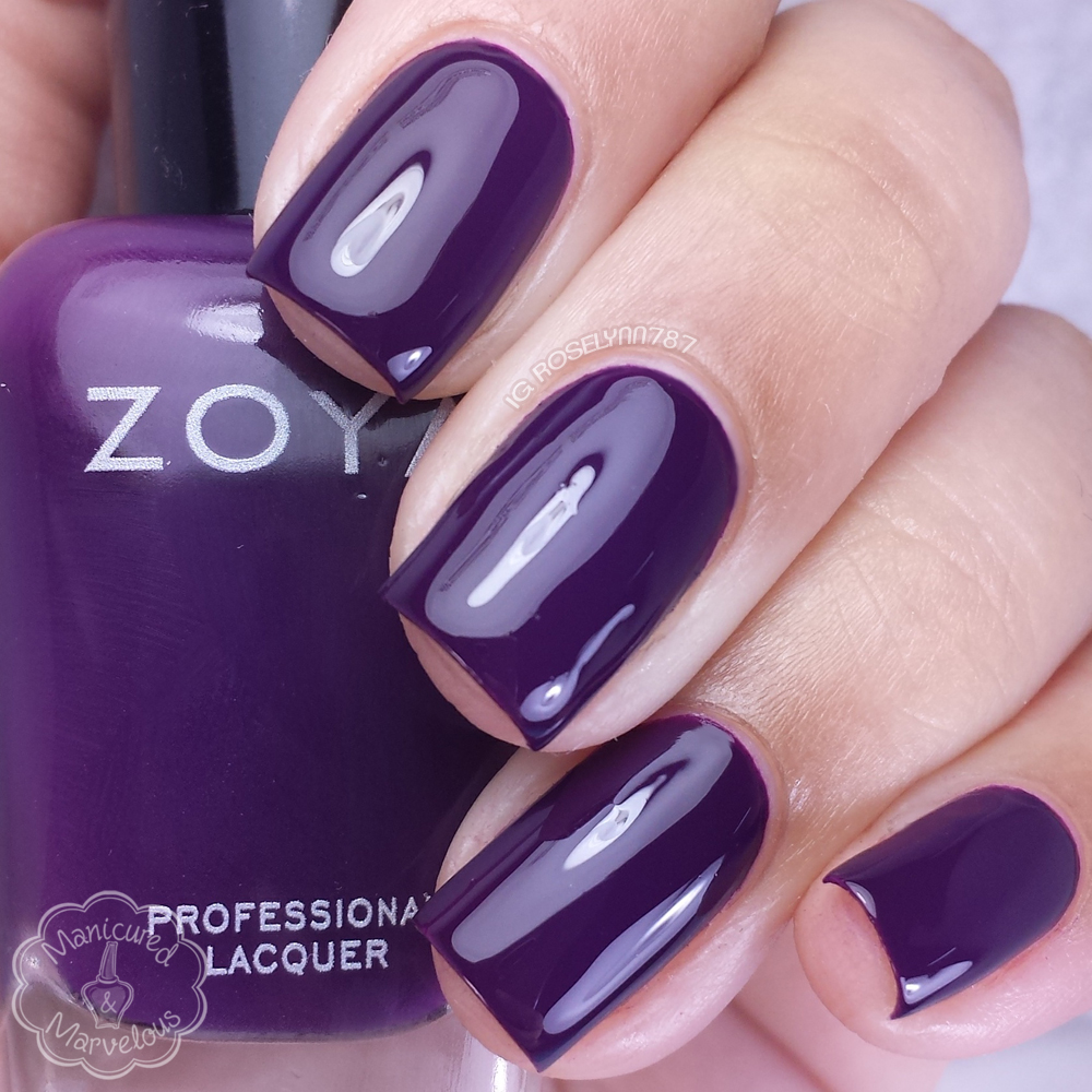 Zoya focus fall 2015 swatches review manicured marvelous zoya lidia reheart Images