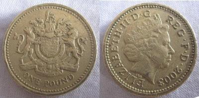 england 1 pound 2003