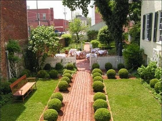 desain taman rumah minimalis 8