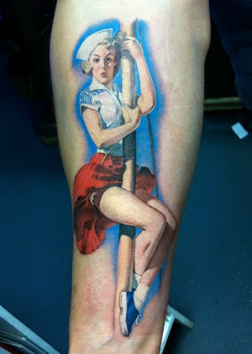 Tatuagem de Pin Up
