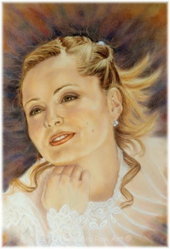 custom wedding portrait painting, people portraits, family portrait commission