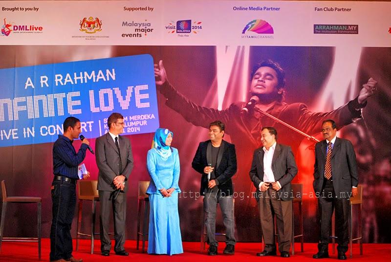 AR Rahman Press Conference Malaysia 2014