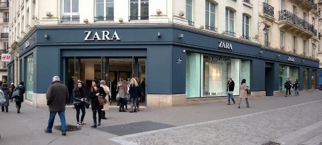Onde comprar roupa em Paris