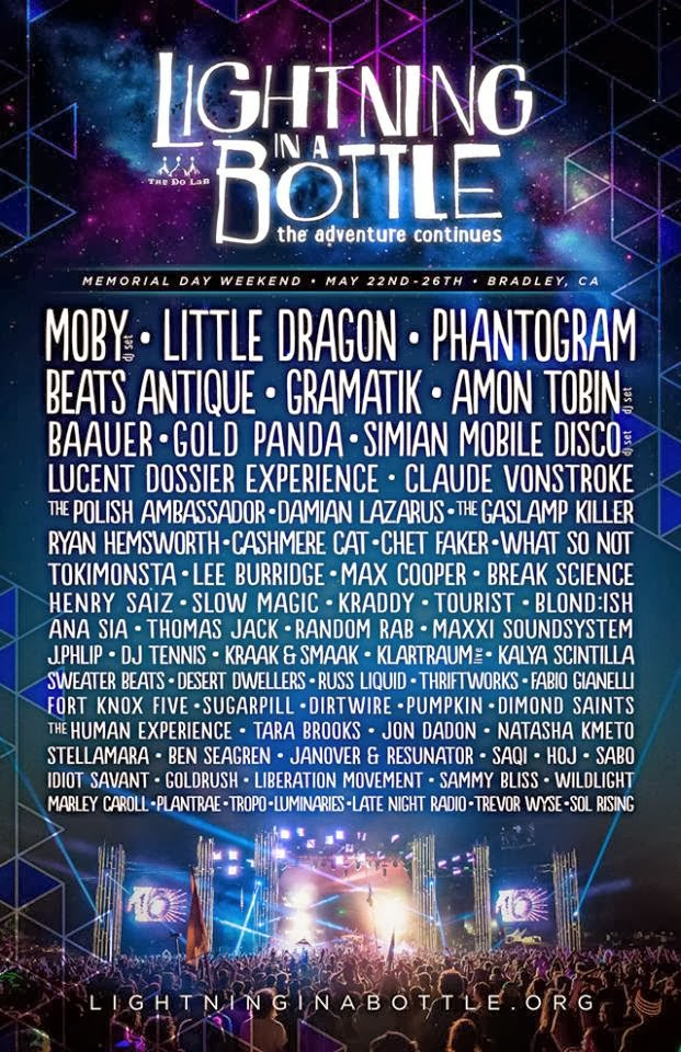 Lightning in a Bottle 2014 lineup announced