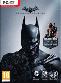 batman arkham origin pc game coverbox Batman Arkham Origins Update 2 RELOADED