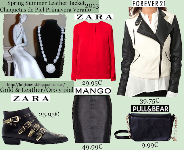 zara, mango, forever 21, h&m, blue, fluor, pink, leather, pu, chain, skirt, blouse, red, two tones, zip, necklace, jade, white, pastel, trousers, heels, boots, ankle boots, mini, falda, botas, botines hebillas, azul, rosa camisa, blusa, pantalón, cazadora, biker, dos tonos, blanco, negro, jade, collar, combinar, combine, how to wear, what to wear, cómo llevar, cómo combinar, qué me pongo Sterling silver white jade necklace. Gil/ Collar de plata esterlina y jade blanco. Gil