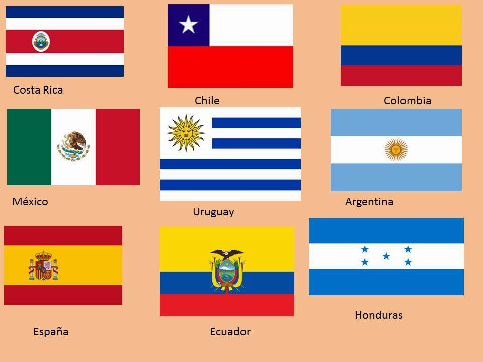 21 spanish speaking countries and their flags in the world