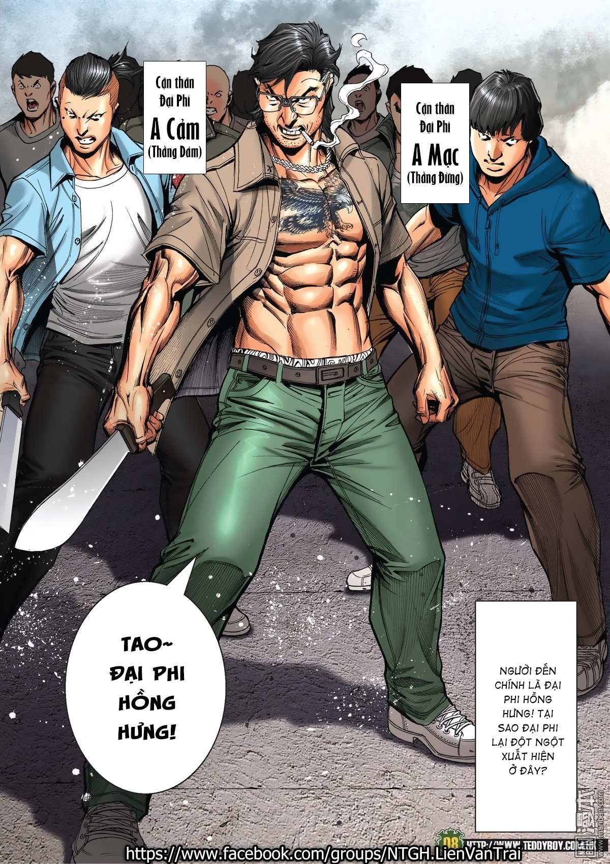 Người Trong Giang Hồ Chap 2031 - Next Chap 2032