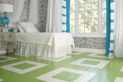 C mo decorar una casa con pisos pintados decorando mejor for Pisos pintados modernos