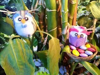 ooak owl door fairy gnome hobbit