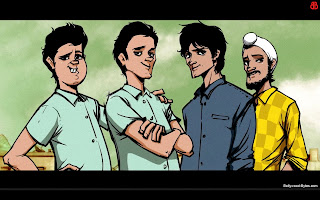 Fukrey Four Friends -Pulkit Samrat, Manjot Singh, Pankaj Tripathi, Ali Fazal