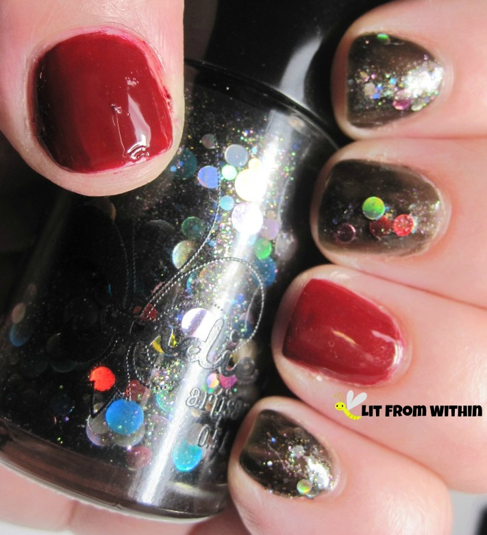 Jindie Nails Midnight Rainbow, and Julep Anisa
