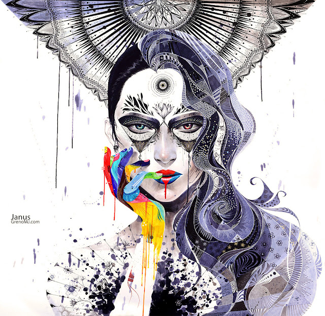 Dulzura explosiva en el arte de Minaje Lee