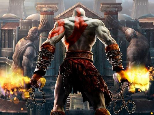 Lançamento da LeYa: God Of War, A história oficial que deu origem ao jogo, de Matthew Stover e Robert E. Vardeman