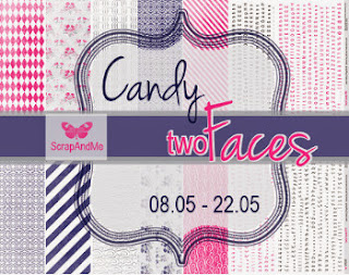 Candy w ScrapAnd Me-TWO FACES