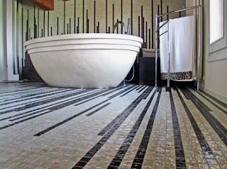 mosaic bathroom flooring tiles