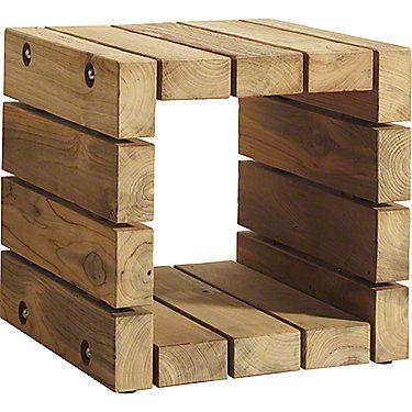 nicho de sobras de madeira